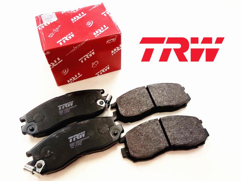 TRW Brake Pad For Proton Preve Exora Bold Rear